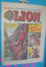 LION COMIC 20TH MARCH 1965 1960S A CLASSIC GROUNDBREAKING UK COMIC