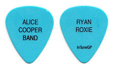 Alice Cooper Ryan Roxie Light Blue Guitar Pick - 2016 Tour