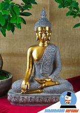 Großer Thai Buddha Budda  wunderschöne Figur Statue Feng Shui ca.40 cm sitzend
