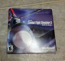 Microsoft Combat Flight Simulator 3: Battle for Europe  (PC, 2002)