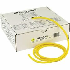 Thera-band Yellow Tube By The Foot Theraband Resistance Band Yoga AUTHENTIC New!