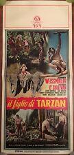 locandina S13 L FIGLIO DI TARZAN,Finds a Son,1960,Johnny Weissmuller, O'Sullivan