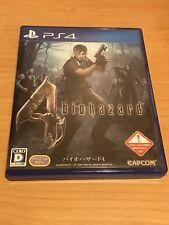Biohazard 4 PS4 Japanese Import ¥US SELLER¥