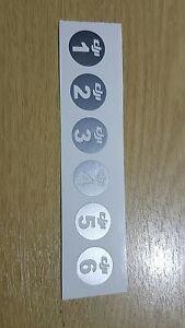 Dji  phantom 1.  2.  3  battery stickers.