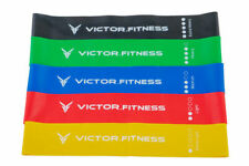 Victor.Fitness REXbands REX Recovery with Elastic eXercise, Loop bands