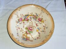 ANTIQUE DEVON WARE FIELDINGS LARGE BOWL DIAMETER 10""