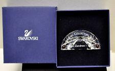 2003 Swarovski Crystal Scs Title Plaque 626472 Austria Paper Weight Nib