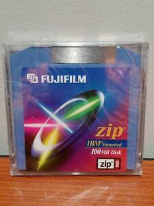 Sealed FUJIFILM 100MB Zip Disk IBM Formatted