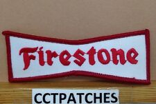 FIRESTONE TIRES RED/WHITE PATCH