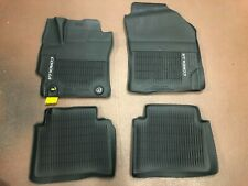 TOYOTA COROLLA/ HYBRID 2020-2021 4PCS BLACK ALL WEATHER  MATS PT206-02201-01