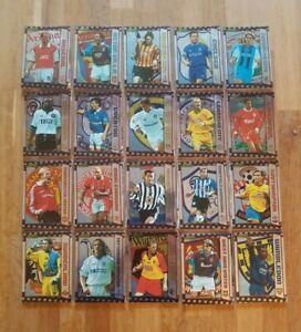 Merlin Premier Gold 2000 Full Team Set inc Top Scorer & Key Player *Choose Team*