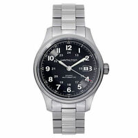 NEW Hamilton Khaki Field Titanium Auto Men's Automatic Watch H70525133