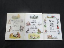 Winnie-the Pooh, The House at Pooh Corner, Now we are 6 - hardback set