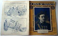 Pays de France n°104- 1916 : L'Aviateur Guynemer