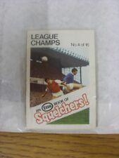 1970/1971 Esso: Squelchers - 04 League Champs, An Esso Mini-Book 16 Issued In Co
