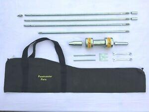 Dynamic Cone Penetrometer 3m Test Set - Safety Hammer