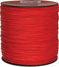 Parachute Cord Rg1135 Micro Cord Red 1.18mm x 1,000 ft. Braided Nylon