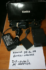 Konica Charger DR-BC-K4 for DR-LB4/NP500 Battery and DR-AC-4a/b Power Supply