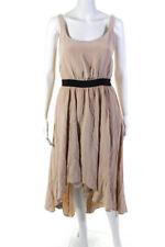 Rebecca Minkoff Womens Silk Sleeveless High Low Dress Pink Size 4