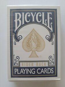 Blue Bicycle Rider Back W/ Gold Spade EPCS