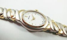 Seiko SXJZ48 Two-Tone Base Metal 1N00-5L48 Sample Watch NON-WORKING