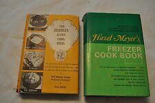 1941 THE DAIRY COOK BOOK Culinary Arts Institute & FREEZER COOK BOOK 1970 MEYERS