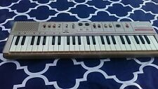 1980'S Casio Casiotone Mt-46 Portable Keyboard Electronic Synthesizer Instrument