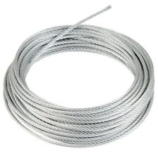 Stainless Steel A4 Wire Rope AISI 316 Cable 1mm 1.5mm 2mm 3mm 4mm 5mm 6mm 8mm