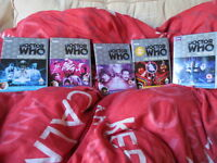 Doctor Who - DVD collection - joblot - Logopolis - Arc - Enlightenment - Movie