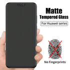 2PCS Matte Tempered Glass Screen Protector for Huawei Honor Mate Nova P Y Note