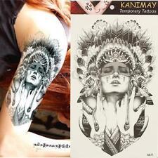Temporary Tattoos Large Arm Fake Transfer Tattoo Stickers Sexy Spray Waterproof