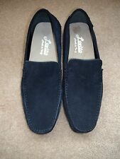 8e9283a66e8 Men s Lovito Navy Blue Suede Moccasins Slip-On Driving Loafers Sz 11.5 New  Italy