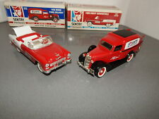 Chevy 1955 Red Convertible and 1936 Dodge Panel Truck Die Cast 1:25 Classics