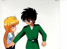 Assault! Pappara Corps original Japanese animation cel w/douga B4/B4-1