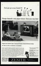 1959 ZENITH SPACE COMMAND Remote Control - Retro Television - VINTAGE AD