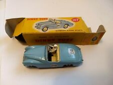 Dinky Toys No 107, Light Blue Sunbeam Alpine Sports With Original Box.