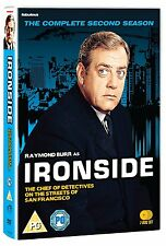 Ironside: Complete Season 2 - DVD NEW & SEALED (8 Discs)         (series/second)
