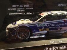 MINICHAMPS 1:18  BMW M3 DTM 2013 TEAM SCHNITZER D. WERNER / ABSOLUTER NEUZUSTAND