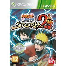 XBOX 360 gioco Naruto Shippuden Ultimate Ninja Storm 2 II NUOVO
