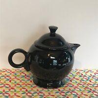 Fiestaware Black Teapot Fiesta Retired 44 oz Teapot with Lid