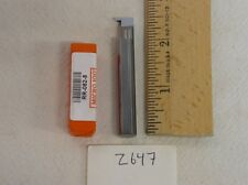 3 NEW MICRO 100 SOLID CARBIDE RETAINING RING BAR.   RR-062-8  (Z647)
