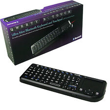 QWERTY TOUCH SMALL PORTABLE BLUETOOTH KEYBOARD / TOUCH PAD / LASER POINTER PC