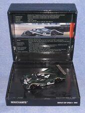 Coffret Bentley exp speed 8 de l'édition des 24 heures du Mans 2002
