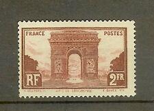 """FRANCE STAMP TIMBRE N° 258 """" ARC DE TRIOMPHE DE L'ETOILE PARIS 2F """" NEUF xx TB"""