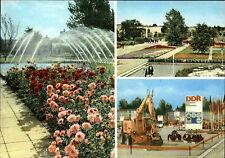 ERFURT Thüringen DDR Postkarte IGA Internationale Gartenbau-Ausstellung ungelauf