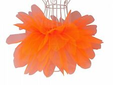 Neon Pink Petal Tutu Skirt 6 Layers 80's Fancy Dress Hen Party Fun Run