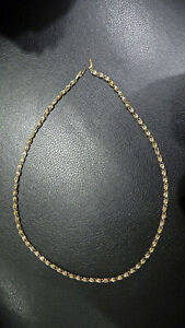 14K, 14KT, YELLOW GOLD necklace 14.29 grams
