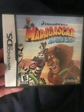 Madagascar Kartz (Nintendo DS, 2009)  COMPLETE