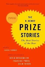 The O. Henry Prize Stories 2006: The Best Stories of the Year by , Good Book
