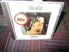 ERIK VOEKS: SANDBOX MUSIC CD, 1993 ROCKVILLE RECORDS, 11 TRACKS, GUC